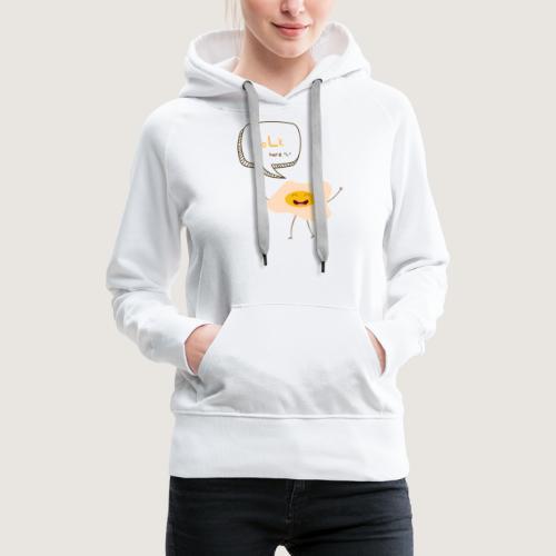 yoLk hard L - Women's Premium Hoodie