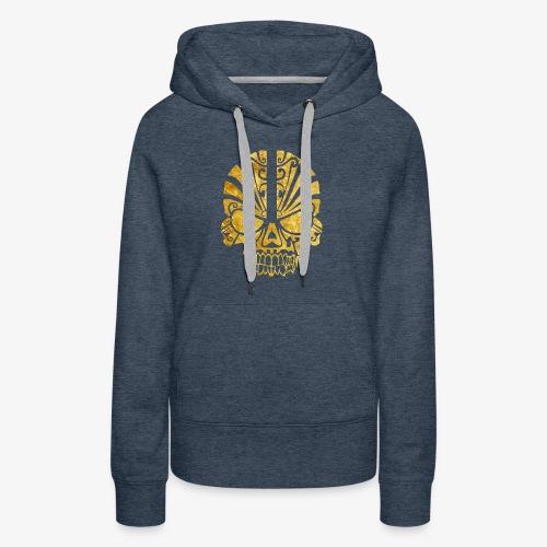 Gold Skull - Women's Premium Hoodie