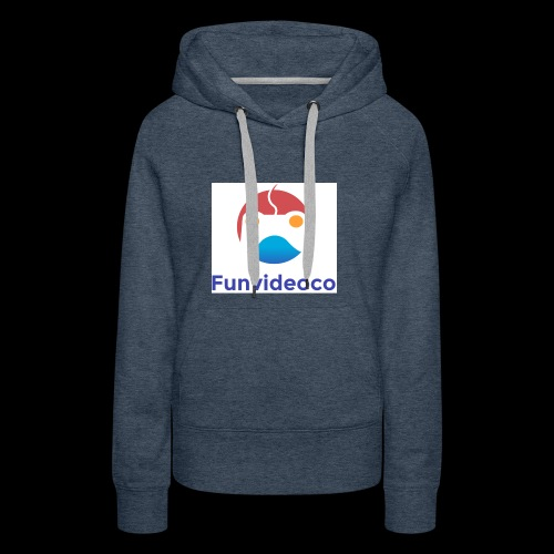 Fun Video Co logo - Women's Premium Hoodie