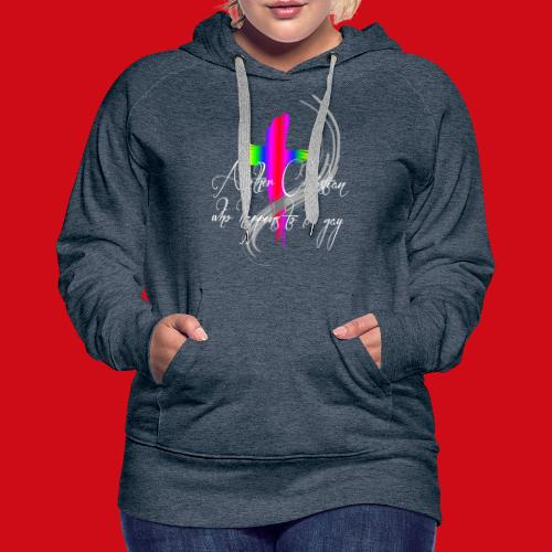 Another Gay Christian - Women's Premium Hoodie