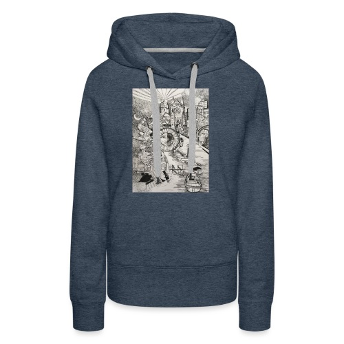 Explore Your World - by Timothy Leistner - Women's Premium Hoodie