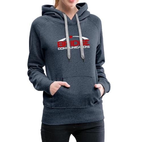 Bridge Communications Dark Logo - Women's Premium Hoodie