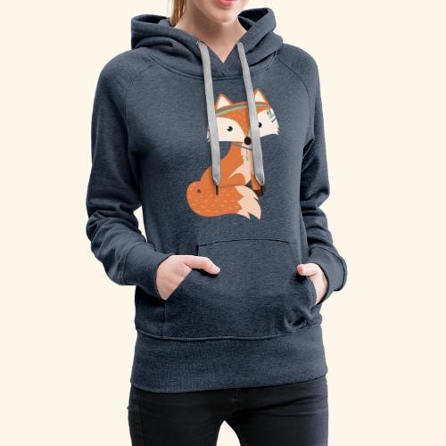 Felix Fox - Women's Premium Hoodie