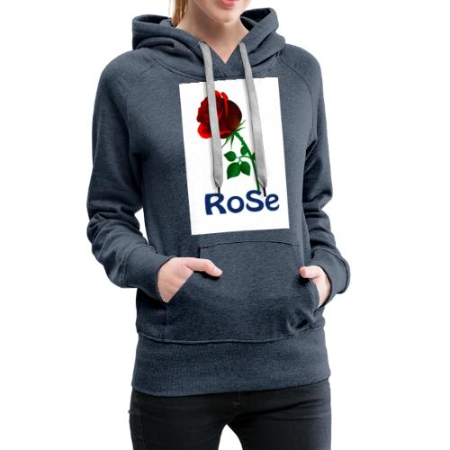 Red Rose - Women's Premium Hoodie