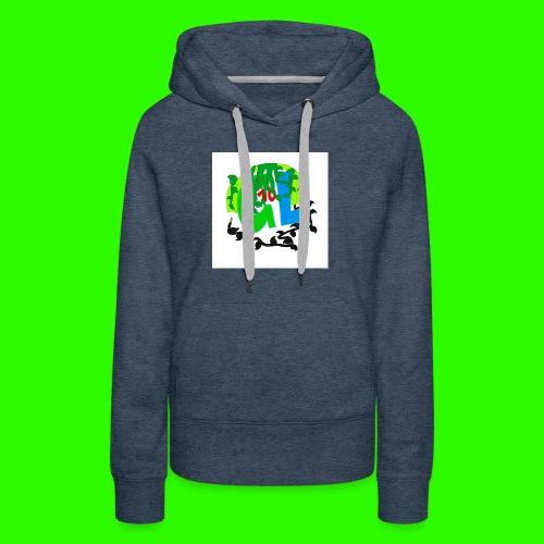 Greenleaf10 logo - Women's Premium Hoodie