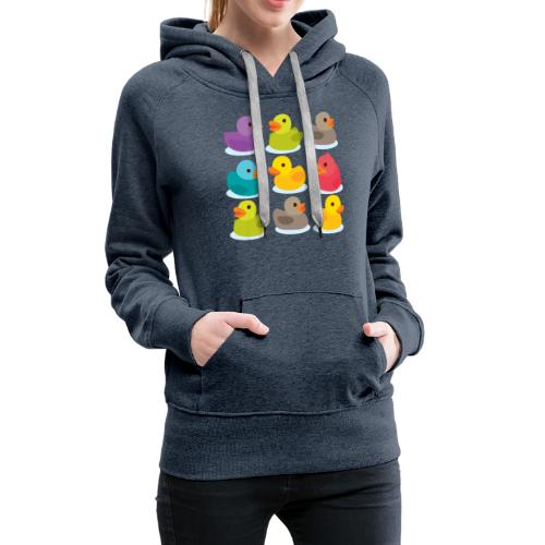 More rubber ducks to the people! - Women's Premium Hoodie
