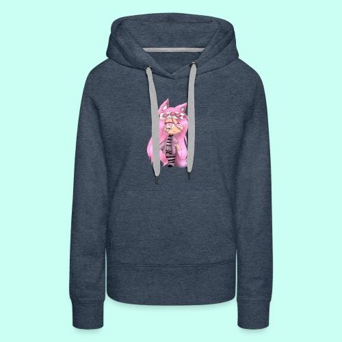 Pink Gacha Life Oc - Women's Premium Hoodie