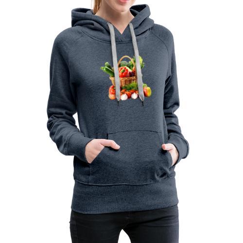 Vegetable transparent - Women's Premium Hoodie