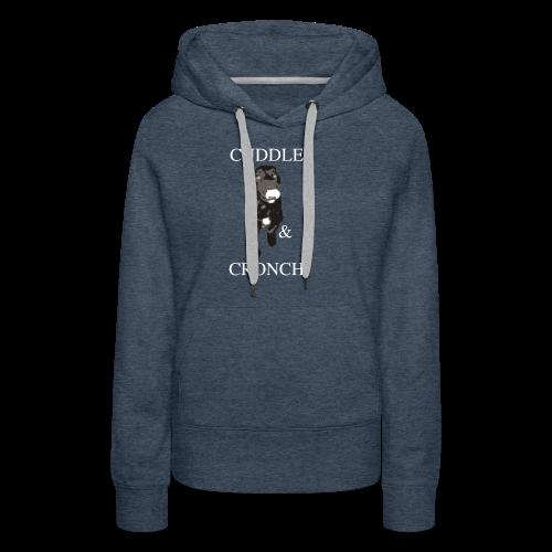 Cuddle & Cronch - Women's Premium Hoodie