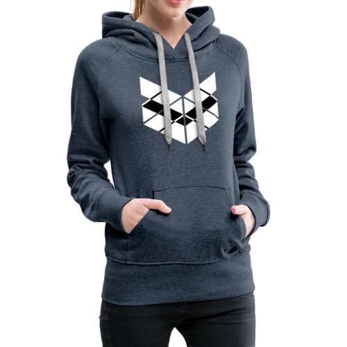 SaMPL and HoLD Plain Logo - Women's Premium Hoodie
