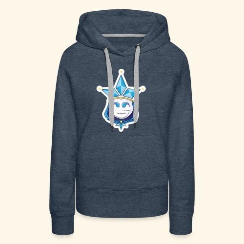 Glass Jester Mascot - Women's Premium Hoodie