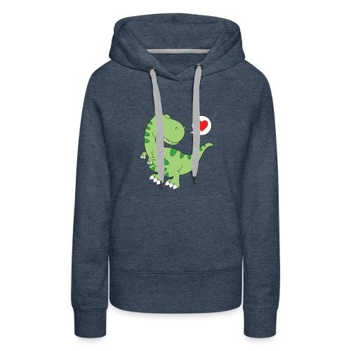 Dinosaur Love - Women's Premium Hoodie