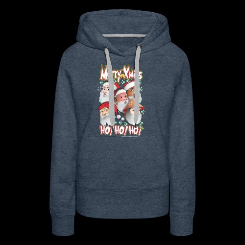 xmastshirtdesignsHoHoHo - Women's Premium Hoodie