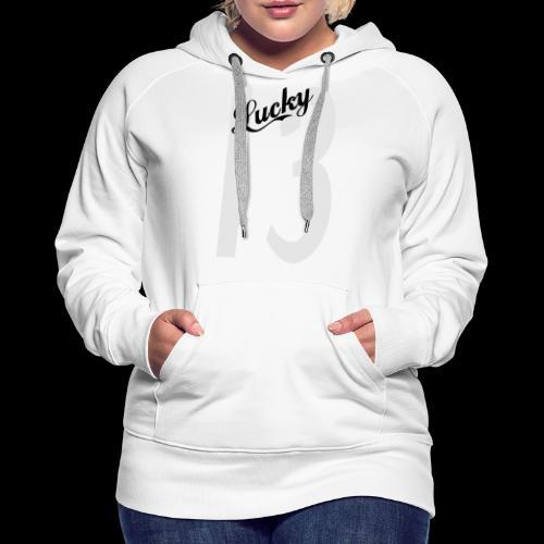Lucky Thirteen - Women's Premium Hoodie