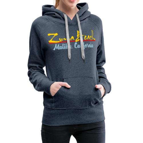 Zuma Beach - Malibu, California - Women's Premium Hoodie