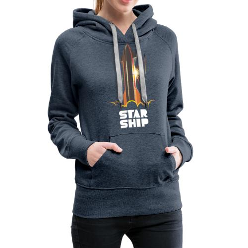 Star Ship Mars - Dark - Women's Premium Hoodie