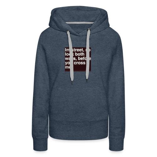 Gangsta shirts - Women's Premium Hoodie