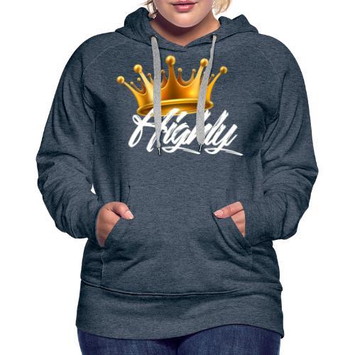 Highly Crown Print - Women's Premium Hoodie
