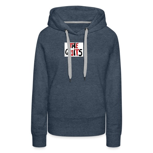 quits logo - Women's Premium Hoodie