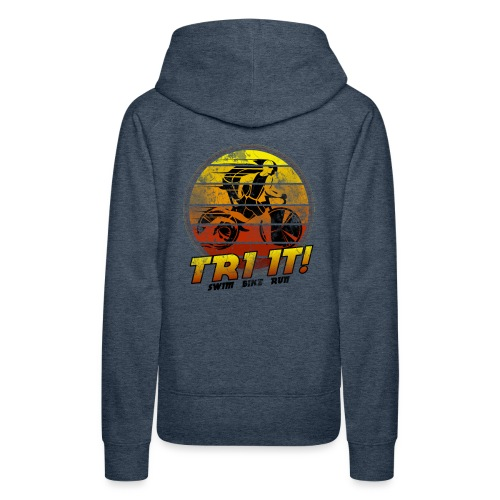 Tri It - Women's Premium Hoodie