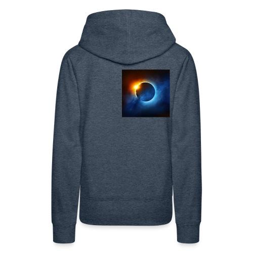 xoresi_xzor eclipse - Women's Premium Hoodie