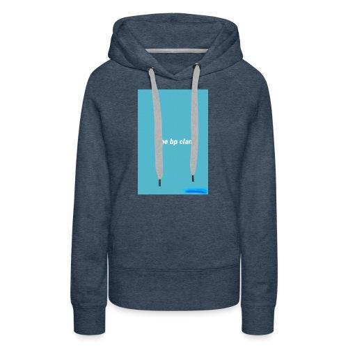 bp blue - Women's Premium Hoodie