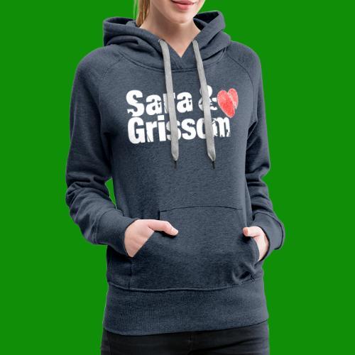SARA & GRISSOM - Women's Premium Hoodie