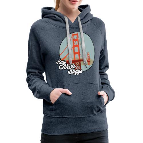 Bay Area Buggs Bridge Design - Women's Premium Hoodie
