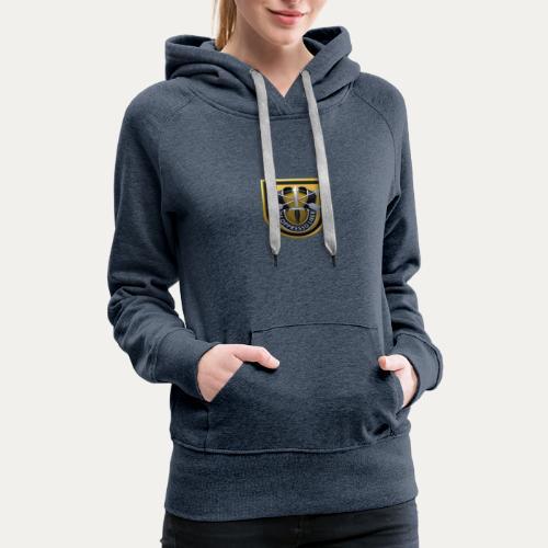 1st Special Forces MilSim Logo - Women's Premium Hoodie