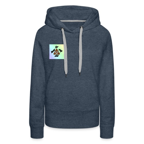 HTSS Old School Blue/Purple Design - Women's Premium Hoodie