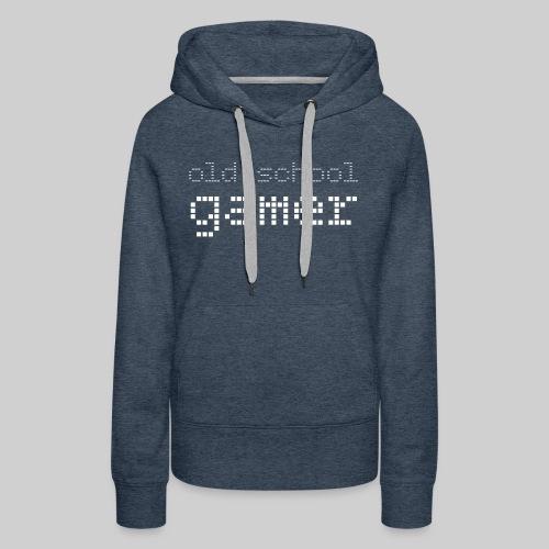 Old School Gamer - Women's Premium Hoodie