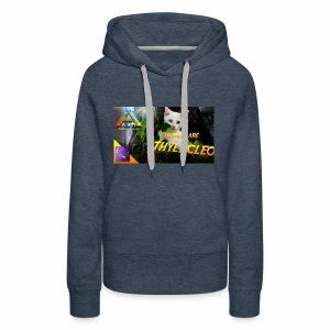 Frostbyte the YouTube kitty - Women's Premium Hoodie
