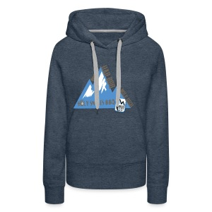 BBQ A Mile High - Women's Premium Hoodie