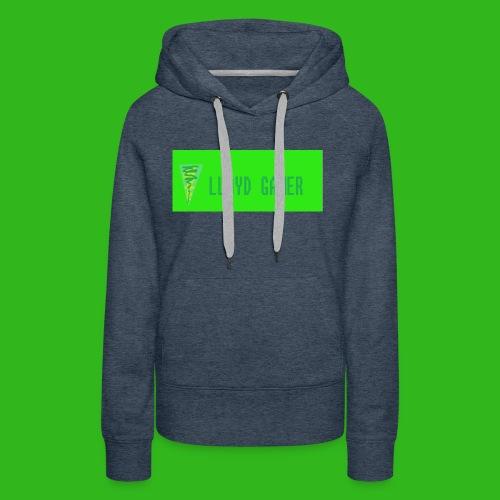 logo green - Women's Premium Hoodie