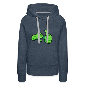 Ribby the Cool Frog - Women's Premium Hoodie
