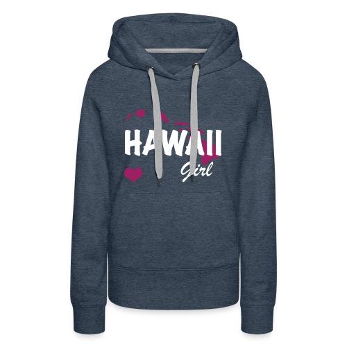Hawaii Girls - Women's Premium Hoodie
