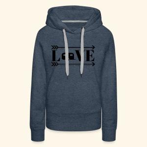 Love Camper Logo - Women's Premium Hoodie