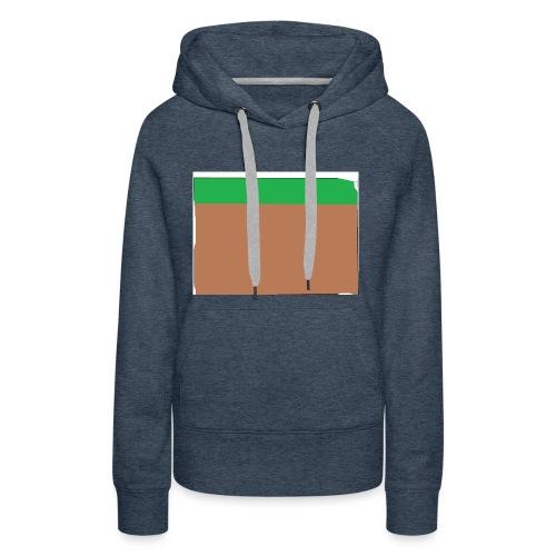 Grass block - Women's Premium Hoodie