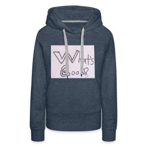 What's Good!? - Women's Premium Hoodie