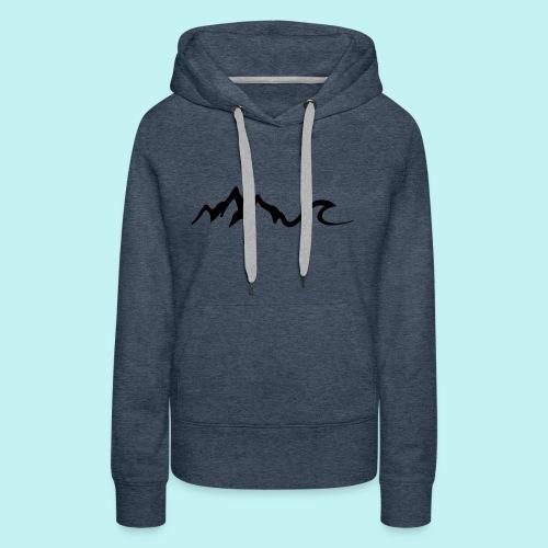 Mount Wave - Women's Premium Hoodie
