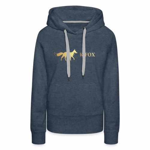 K Fox Black Gold - Women's Premium Hoodie