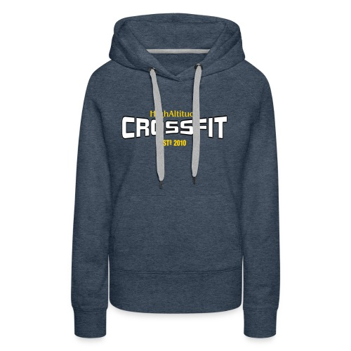 HACF SHIRT DESIGNS SIMPLE LOGO DESIGN - Women's Premium Hoodie