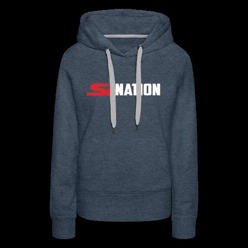 SiNation White - Women's Premium Hoodie