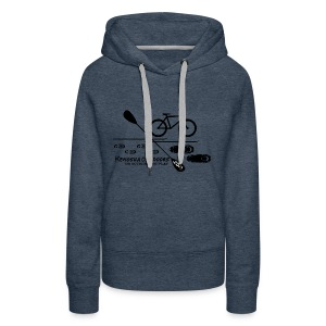 picture logo with .com - Women's Premium Hoodie