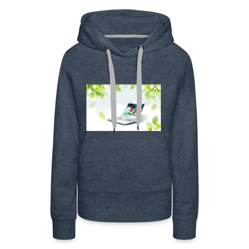 Digital World 63 - Women's Premium Hoodie