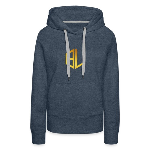 official Gold logo solo - Women's Premium Hoodie