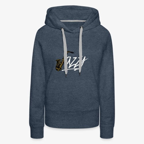 JazzyShirt-WhiteEdition - Women's Premium Hoodie