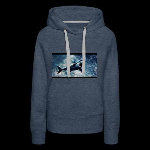 awesome sharks - Women's Premium Hoodie