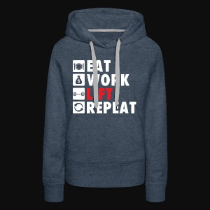 Gym Rat Life Style - Women's Premium Hoodie