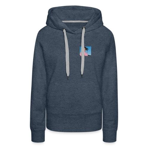 lil peep blue - Women's Premium Hoodie
